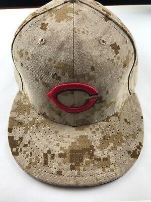 sale retailer abb6e 6e0ca ... coupon for cincinnati reds new era 59fifty memorial day camo stars  stripes cap mlb hat 52891