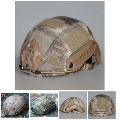 Fast Tactical Airsoft Military Paintball Gear Fast Helmet Cover for CS Hunting