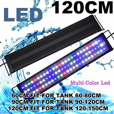 "LOT Aquarium Full Spectrum Multi-Color LED Light 7/18""/24""/30""/36""/48"" FOWLR MYY"