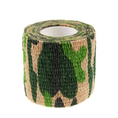 1pcs Disposable Self Adherent Tattoo Grip Cover Wrap Bandages Camouflage Color