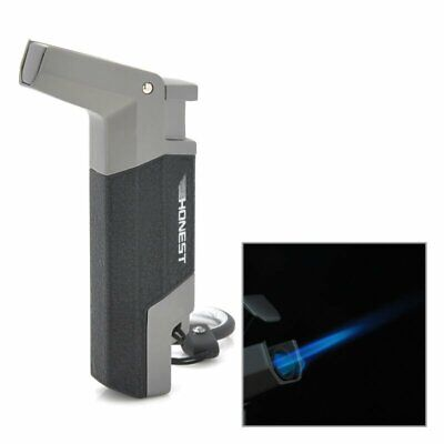 Honest Windproof Stainless steel Butane Jet Torch Lighter   Black