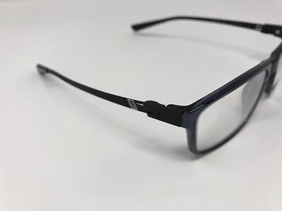 58036791ae Authentic Nike Eyeglass Frames 7106 060 53-16-140 Ice Blue Matte Black EJ30