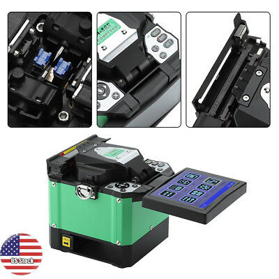 100V-240V 50/60Hz Fiber Optic Splicing Machine Optical Fiber Fusion Splicer New