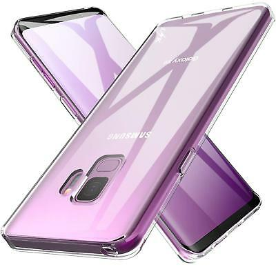 For Samsung Galaxy S7 S8 S9 Plus Case Shockproof Silicone Protective Clear Cover
