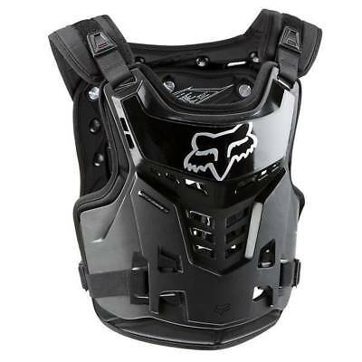 Fox Racing NEW Mx Proframe Black Motocross Roost Chest Guard Youth Kids Armour