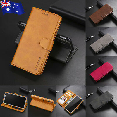 For iPhone Xs Max Xr X 8 7 Plus Leather Case Flip Wallet Card Holder Stand Cover