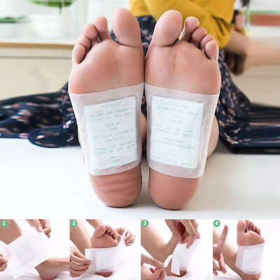 6Pcs/Pack Detox Foot Pads Patch Improve Sleep Remove Body Toxins Health Care