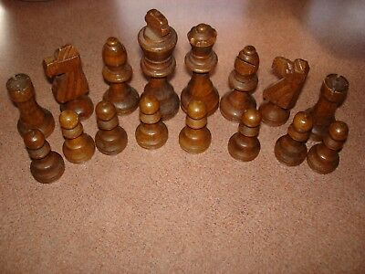 Wooden Chess Pieces GC