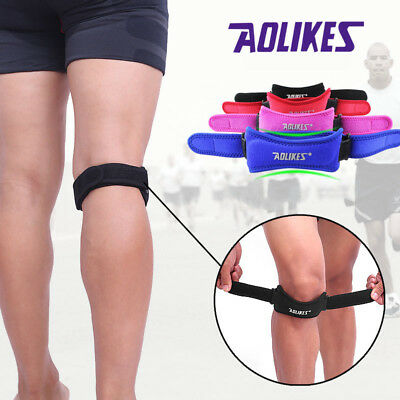 Knee Support Pad Sports Brace Strap Breathable Patella Kneepad Protection ZF27