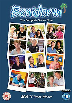 BENIDORM COMPLETE SERIES 9 DVD Ninth Season Johnny Vegas Comedy UK Release R2