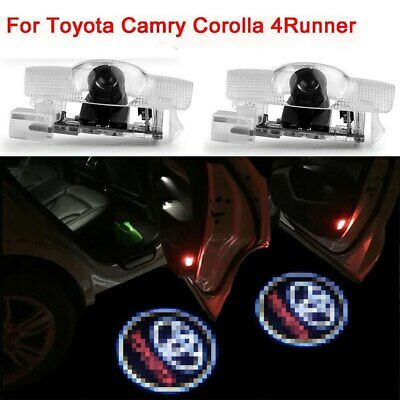 2PCS For Toyota Door LED Logo Projector Ghost Shadow Lights Car Lighting