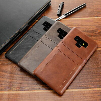 Luxury Leather Wallet Card Slot Pocket Case Cover For Samsung Galaxy Note 9 S9/8