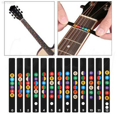 BFF5 Electric Acoustic Guitar Scale Sticker Fretboard Decal Note For Beginner Le