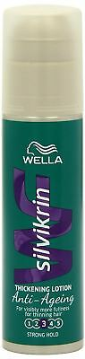 Wella Silvikrin Anti-Ageing Thickening Lotion 100ml For Thinning Hair