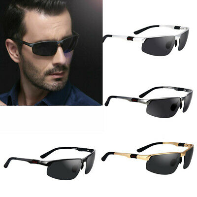 New Men's Polarized Sunglasses Aluminum Magnesium Pilot Sports Driving Glasses