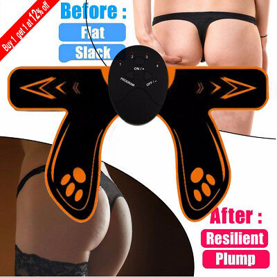 EMS Hip Firming Trainer Buttock Lifting Muscle Stimulation Massager LOT UK