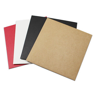 12.5x12.5cm Colorful Kraft Paper CD Pack Bag Envelope Wedding Party Card Pouch