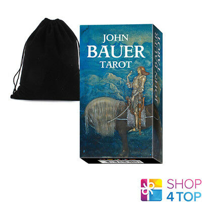 John Bauer Tarot Cards Deck Lo Scarabeo Original Telling Instructions Bag New