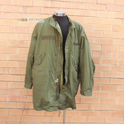 US Issue M65 Fishtail Parka with Liner - Size Medium - Genuine US - Unissued