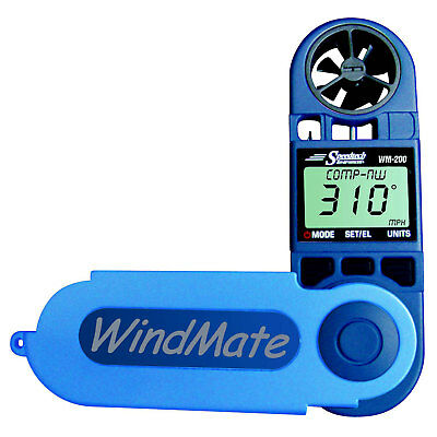 WeatherHawk WM-200 WindMate Anemometer with Wind Direction Speed Windchill