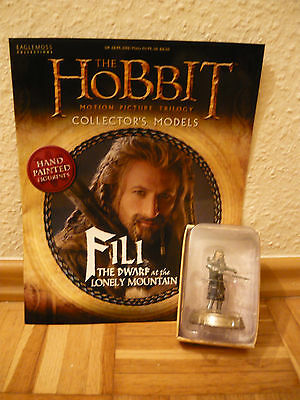 Hobbit Collectors Models: Fili at the lonely Mountain (Nr 25) ~ Eaglemoss