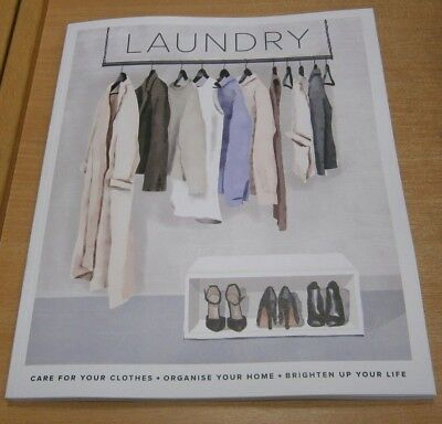 Laundry magazine Volume 1 Care for your Clothes, Organise your Home, Brighten Li