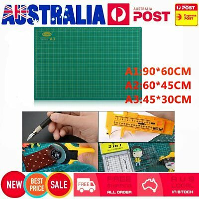 A3 A2 A1 Cutting Mat PVC Self Healing Craft Quilting Grid Lines Printed Board BO