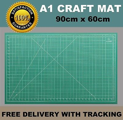 A1 5-Ply Self Healing Craft Cutting Mat 2-Sided Print Quilting – Scrapbooking