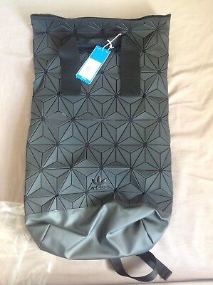 f37d0ed432 BNWT ADIDAS 3D Roll Top Backpack Issey Miyake Style (Black) DH0100 ...