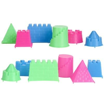 Play Sand 6PCS Educational Toys Indoor Castle Models Clay Unisex Christmas Gift