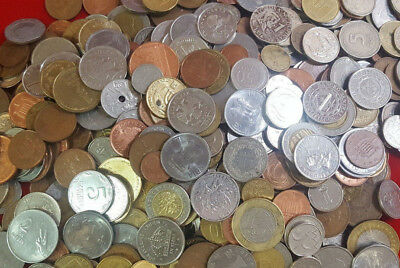 1/2 Pound Bag Of Foreign Coins Mixed Lot Great Variety Very Few Duplicates ~