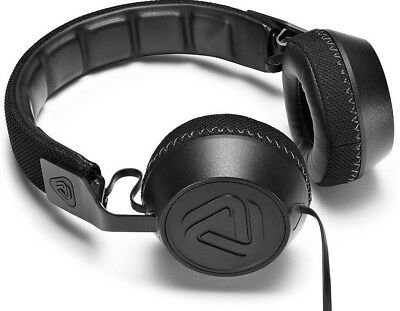 Coloud No.16 Quality On-Ear Headphones Built-in microphone & inline Remote Black