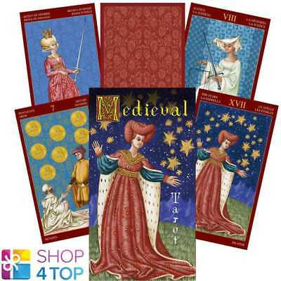 Medieval Tarot Deck Cards Esoteric Fortune Telling Lo Scarabeo New