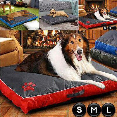 Dog Bed Mattress Cushion Waterproof Double Sided Puppy Pet Pillow Mat Washable