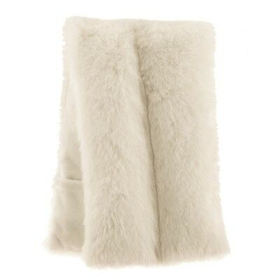 Aroma Home Stunning Cream Faux Fur Lavender Scented Microwavable Body Wrap