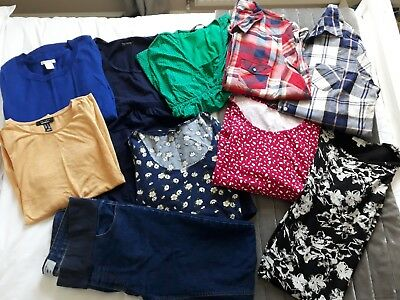 maternity clothes, size 8 to 12 bundle