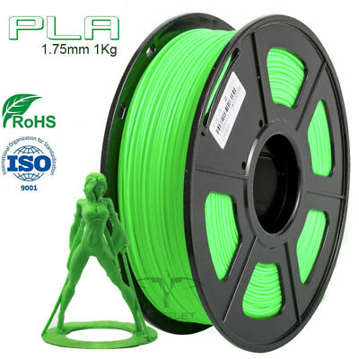 PLA 1.75mm 1Kg Roll +/- 0.02  3D Printer Filament 20+ Colors BUY 3 GET 1 FREE