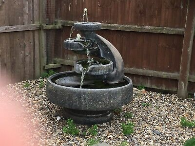 MILL 3 TIER FOUNTAIN by Henri Studio  WITH PUMP model no 5720f7