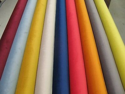 Soft Velvet Fabric - Upholstery Use - (9 Colours) - Panama Range