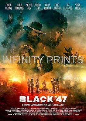 Black 47 Movie Film Poster A2 A3 A4