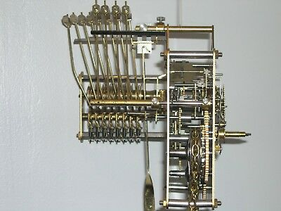 Franz Hermle 8 day weight driven clock mechanism for long case clock