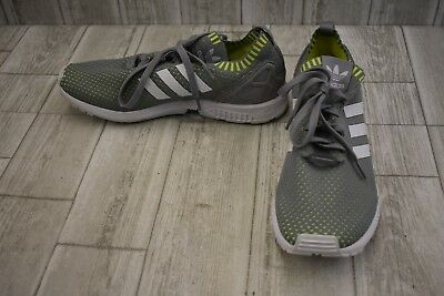 21b16d46239e1 ADIDAS ZX FLUX PrimeKnit Running Shoes