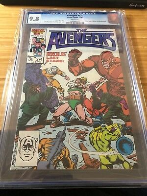 The Avengers #274 (Dec 1986, Marvel) CGC 9.8