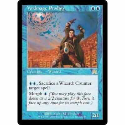 MTG ONSLAUGHT * Voidmage Prodigy (foil) - Condition: Excellent
