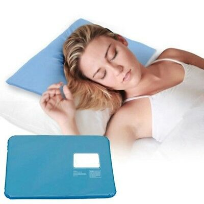 P2C5 Hot Cool Cold Chillow Ice Pillow Aid Sleeping Cooling Insert Pad Mat Therap