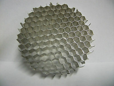 Honeycomb-Grid-Disk-Air-Flow-Light-Diffu