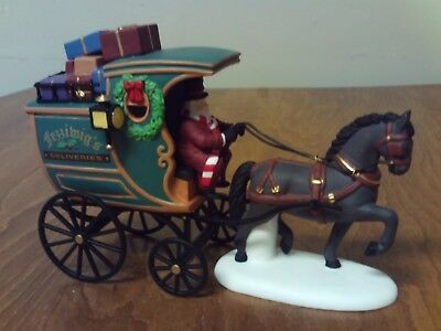 Dept 56~Dickens' Village Series~The Fezziwig Delivery Wagon~In Box~58400