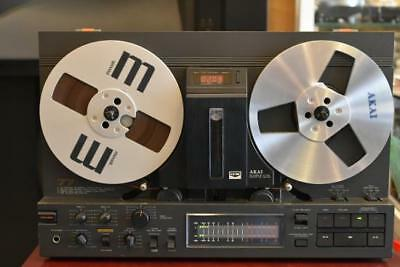 AKAI GX-77BL Vintage Track Stereo Reel to Reel Record Player Tape Deck Japan
