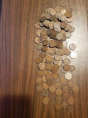 Over 210 Indian Head Pennies + 2 Flying Eagle Cents