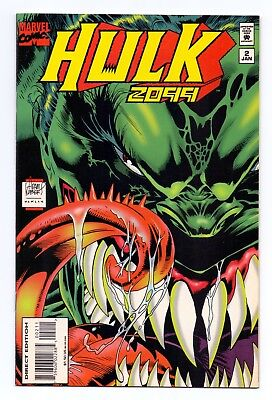 Marvel Comics: Hulk 2099 #2/#3/#4/#5/#6/#7/#8 - Seven Issues!